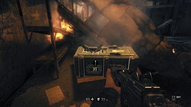 Tymi granatami zlikwidujesz działo - Sztab Trupiej Główki - Misje Główne - Wolfenstein: The New Order - poradnik do gry