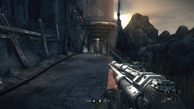 Ostatni sprint w tej lokacji - Sztab Trupiej Główki - Misje Główne - Wolfenstein: The New Order - poradnik do gry