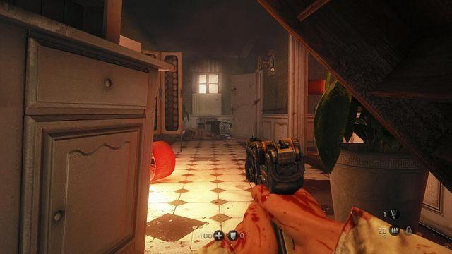 Wyjście niżej jest przez te białe drzwi - Szpital - Wolfenstein: The New Order - poradnik do gry