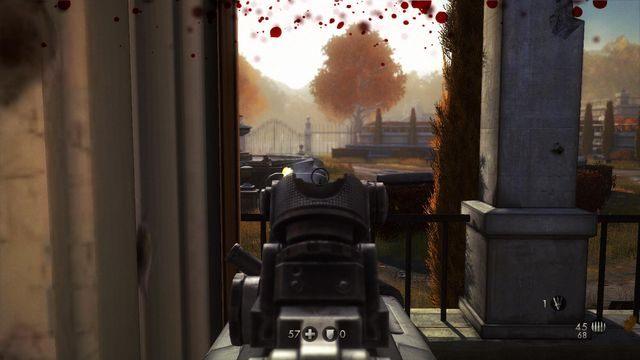 Walka na podwórzu - Szpital - Wolfenstein: The New Order - poradnik do gry