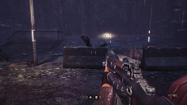 Skocz do kanałów za tymi murkami - Nowy świat - Misje Główne - Wolfenstein: The New Order - poradnik do gry
