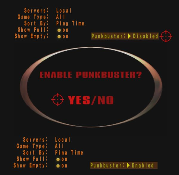 3 - Krok 4: Uruchomienie programu PunkBuster - karta wstępu do serwera GRY-OnLine. - Urban Terror - poradnik do gry