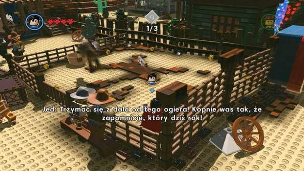 Stary Zachód | Misje poboczne czerwone klocki w LEGO
