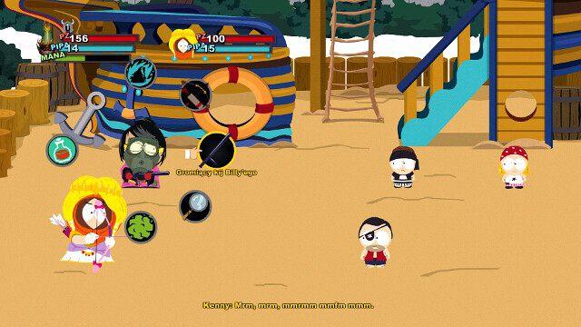Koło wyboru ataku - Rodzaje ataków - Walka - South Park: Kijek Prawdy - poradnik do gry