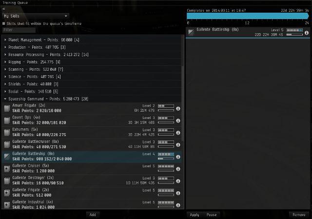 Zaraz pod portretem znajduje się niepozorny, czarno-niebieski paseczek - Ważne elementy interfejsu - Pierwsze kroki - EVE Online - poradnik do gry