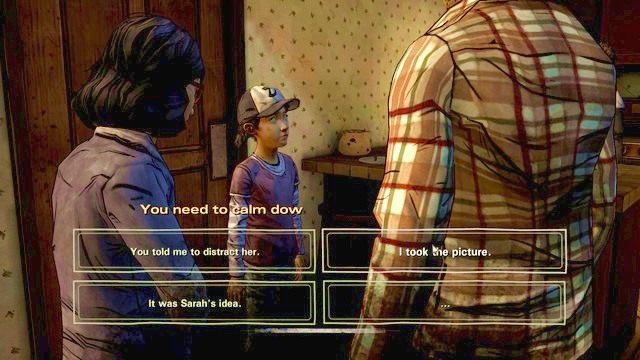Wybór 1 - Ważne wybory | Epizod 2 - A House Divided - The Walking Dead - Season Two - poradnik do gry