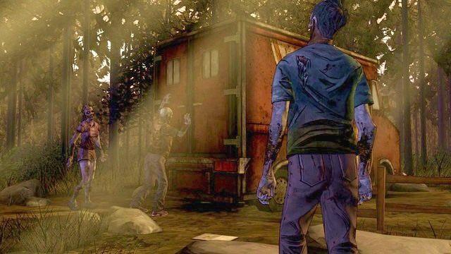 Zamknięci w ciężarówce - Rozdział 1 - Pete | Epizod 2 - A House Divided - The Walking Dead - Season Two - poradnik do gry