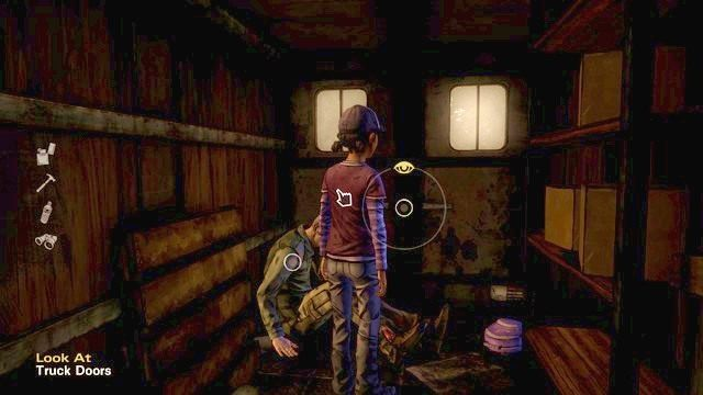 Zamknięci w furgonie - Rozdział 1 - Pete | Epizod 2 - A House Divided - The Walking Dead - Season Two - poradnik do gry