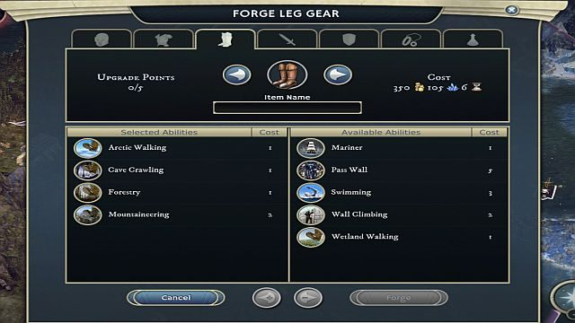 Siedmiomilowe buty, proces produkcyjny. - Rozwój bohatera - Bohaterowie - Age of Wonders III - poradnik do gry