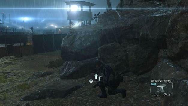 Wystająca skała obok wieży - Uwolnij Chico - Opis przejścia - Metal Gear Solid V: The Phantom Pain - poradnik do gry