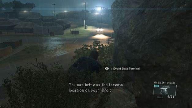 W krzakach jesteś niewidoczny dla wroga - Uwolnij Chico - Opis przejścia - Metal Gear Solid V: The Phantom Pain - poradnik do gry