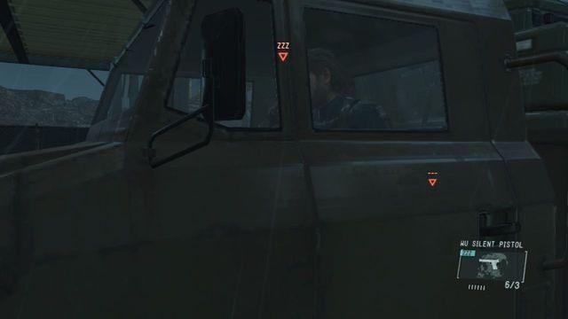 Użyj ciężarówki do ucieczki - Uwolnij Paz - Opis przejścia - Metal Gear Solid V: The Phantom Pain - poradnik do gry