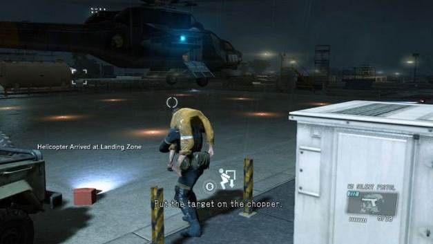 Ucieczka helikopterem spod bazy - Uwolnij Paz - Opis przejścia - Metal Gear Solid V: The Phantom Pain - poradnik do gry