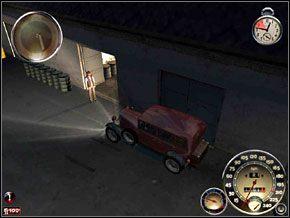 Za moment wyjedziemy z nich sportową Carrozella C-Otto 4WD - Misja 5 - Czysta gra - Mafia: The City of Lost Heaven - poradnik do gry