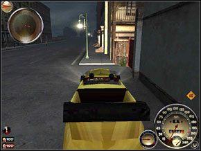 Uzbrojeni w kije wchodzimy przez bramę na podwórko - Misja 7 - Lepiej do tego przywyknij - Mafia: The City of Lost Heaven - poradnik do gry