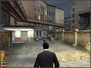 Staramy się ściągnąć na siebie większość przeciwników i nie podchodzić za blisko Paula, aby uniknąć wzajemnych ciosów - Misja 7 - Lepiej do tego przywyknij - Mafia: The City of Lost Heaven - poradnik do gry