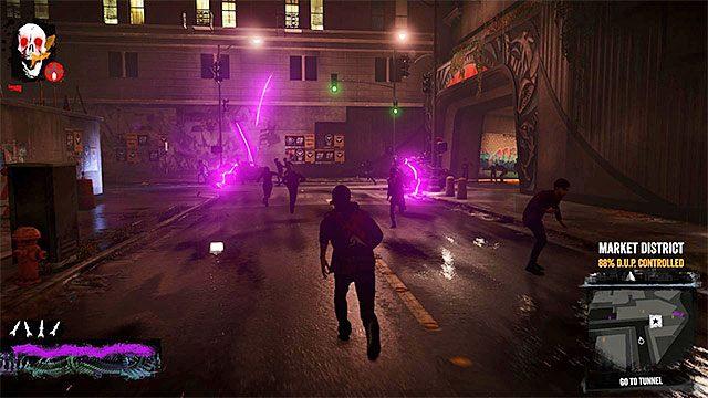 Po zakończonych walkach zregeneruj moce głównego bohatera - 7b - Fight Intolerants - Opis przejścia - inFamous: Second Son - poradnik, opis przejścia, miasto