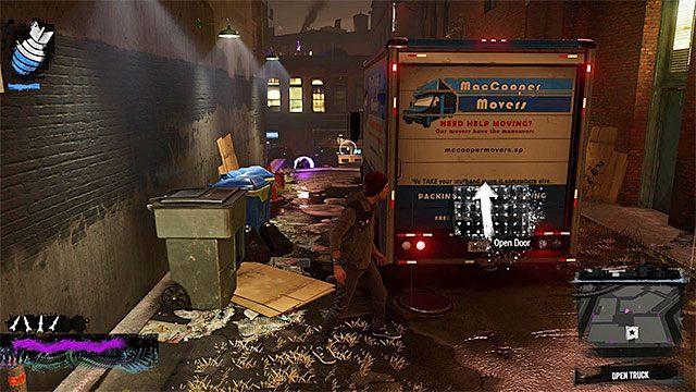 Furgonetka - 7a - Trash the Stash - Opis przejścia - inFamous: Second Son - poradnik, opis przejścia, miasto