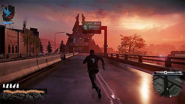 Droga prowadząca do mostu - 8 - The Test - Opis przejścia - inFamous: Second Son - poradnik, opis przejścia, miasto
