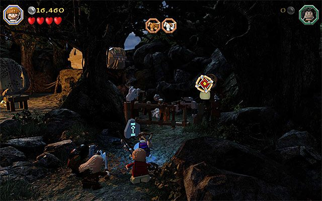 Celuj w nową tarczę - Etap 4 (Roast Mutton) - Oswobodzenie koni | Opis przejścia - LEGO The Hobbit - poradnik do gry