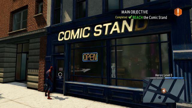 Comic Stand - Live by the sword... - Opis przejścia - The Amazing Spider-Man 2 - poradnik do gry