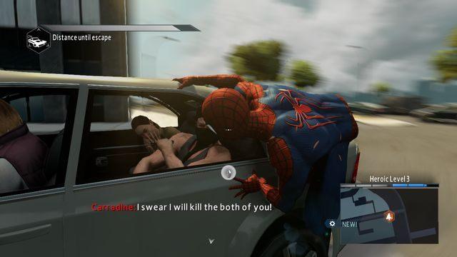 Najpierw przejdź do drzwi z lewej strony - Live by the sword... - Opis przejścia - The Amazing Spider-Man 2 - poradnik do gry