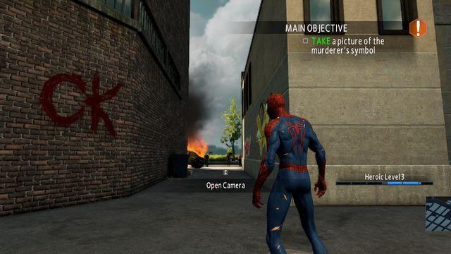 Symbol mordercy - Live by the sword... - Opis przejścia - The Amazing Spider-Man 2 - poradnik do gry