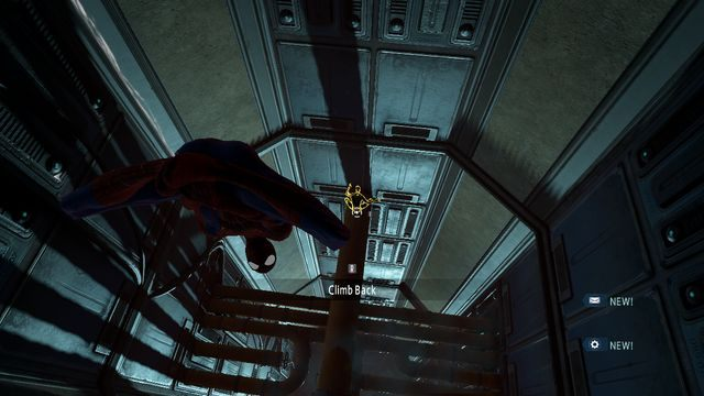 Opuszczaj się na sieci w dół - Raid on OSCORP - Opis przejścia - The Amazing Spider-Man 2 - poradnik do gry