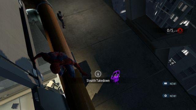 Pozbądź się przeciwnika z wysokości - Raid on OSCORP - Opis przejścia - The Amazing Spider-Man 2 - poradnik do gry