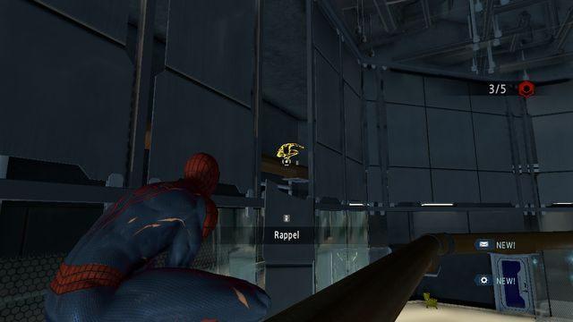 Przejdź na rury za ścianą - Raid on OSCORP - Opis przejścia - The Amazing Spider-Man 2 - poradnik do gry