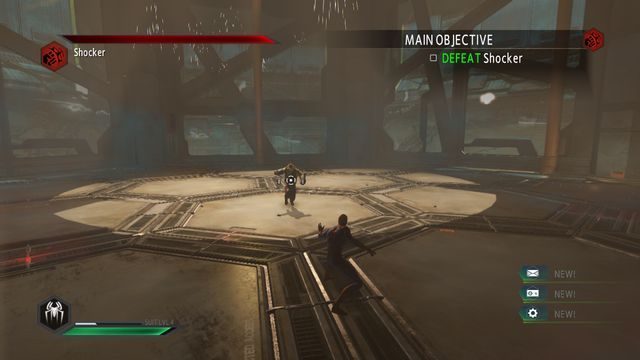 Shocker - Raid on OSCORP - Opis przejścia - The Amazing Spider-Man 2 - poradnik do gry