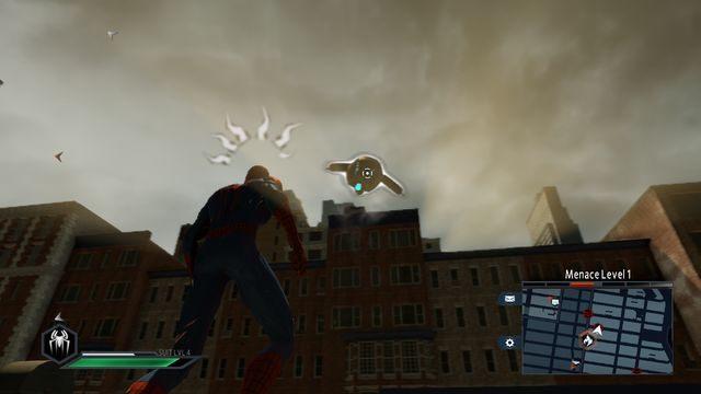 Wrogi dron - Day of the Hunter! - Opis przejścia - The Amazing Spider-Man 2 - poradnik do gry