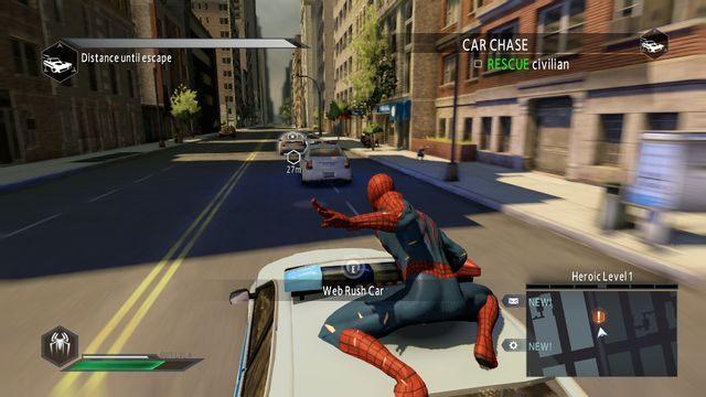 Pościg - Day of the Hunter! - Opis przejścia - The Amazing Spider-Man 2 - poradnik do gry