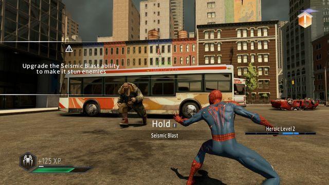 Brute - Day of the Hunter! - Opis przejścia - The Amazing Spider-Man 2 - poradnik do gry