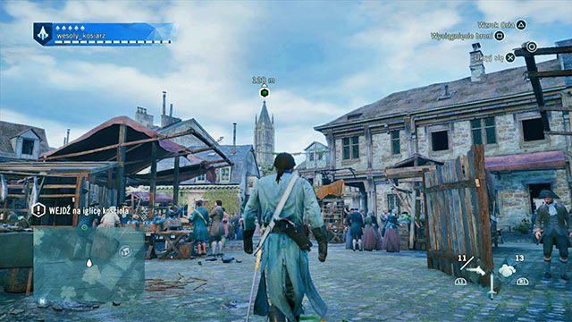 Trzeba rozejrzeć się po okolicy. - 02 - Stany Generalne | Solucja AC Unity - Assassins Creed: Unity - poradnik do gry