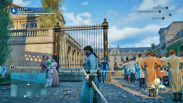 Dużo strażników, ale tłum też duży. - 02 - Stany Generalne | Solucja AC Unity - Assassins Creed: Unity - poradnik do gry
