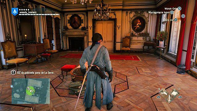 Na początek idź do gabinetu pana de la Serre - 03 - Śmietanka towarzyska | Solucja AC Unity - Assassins Creed: Unity - poradnik do gry