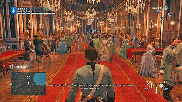 Wielki bal. - 03 - Śmietanka towarzyska | Solucja AC Unity - Assassins Creed: Unity - poradnik do gry