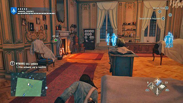 Arno, specjalista od ucieczek. - 03 - Śmietanka towarzyska | Solucja AC Unity - Assassins Creed: Unity - poradnik do gry