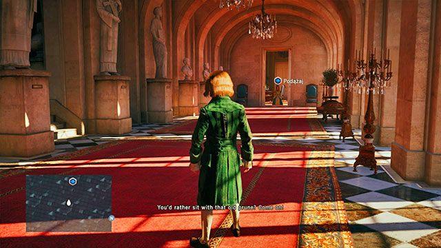 Arno spotyka Elise. - 01 - Wspomnienia z Wersalu | Solucja AC Unity - Assassins Creed: Unity - poradnik do gry