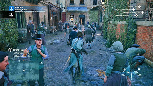 Arno nie potrafi rozstać się z zegarkiem ojca. - 01 - Wspomnienia z Wersalu | Solucja AC Unity - Assassins Creed: Unity - poradnik do gry
