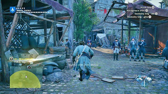 Zegarek jest, czas się zmywać. - 01 - Wspomnienia z Wersalu | Solucja AC Unity - Assassins Creed: Unity - poradnik do gry