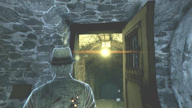 Zaraz zwiedzisz cele. - Rozdział 8 - Kryjówka Dzwonnika - Śledztwa główne - Murdered: Śledztwo Zza Grobu - poradnik do gry