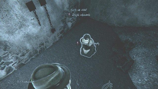 Abigail była tu przetrzymywana. - Rozdział 8 - Kryjówka Dzwonnika - Śledztwa główne - Murdered: Śledztwo Zza Grobu - poradnik do gry