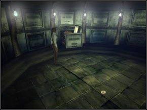 Aby dostać się do krypty znajdującej się na cmentarzu używamy klucza znalezionego w zakrystii - [Część I] Valadilene cd. - Syberia - poradnik do gry