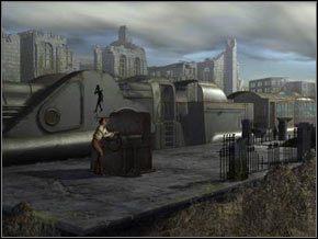 Krótka animacja przedstawi nam proces przeciągania pociągu pod urządzenie nakręcające lokomotywę - [Część II] Barrockstadt cd. - Syberia - poradnik do gry