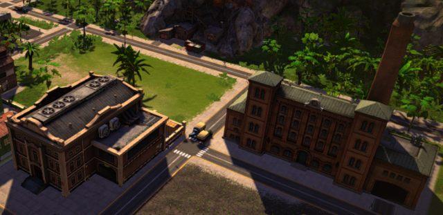 Budynki przemysłowe zajmują dużą powierzchnię - 3. Zarabianie pieniędzy - Tropico 5 w 10 prostych krokach
