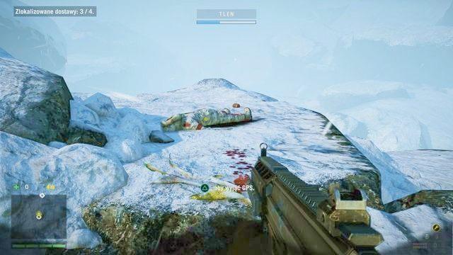 Poszukiwany ładunek łatwo znaleźć idąc po śladach krwi. - Kazanie na górze - Zadania główne - Far Cry 4 - poradnik do gry