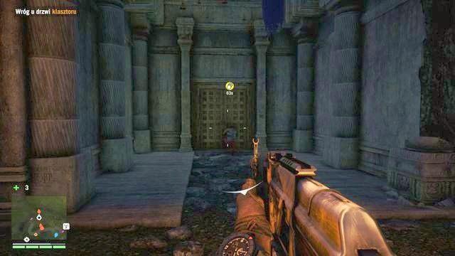 Nie możesz dopuścić do wysadzenia klasztoru - przed wyznaczonym czasem musisz zabić przeciwnika podkładającego bombę. - Wymiana kulturalna - Zadania główne - Far Cry 4 - poradnik do gry