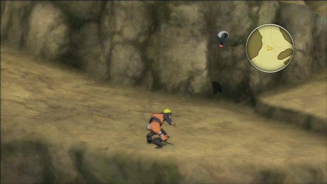 Skarb przywiązany do spadochronu. - Eksploracja wyspy klasa D - Światowy Turniej Ninja - Klasa D - Naruto Shippuden: Ultimate Ninja Storm Revolution - poradnik do gry